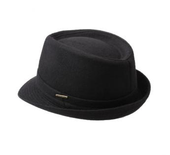 Winter hat with Teflon Coating - Fall//Winter Trilby hat Water-Repellent Made in Italy Mens hat Hat Made of Wool Felt Stetson Benavides Womens//Mens Trilby Wool hat