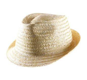 Nude Trilby Straw Classic Italy