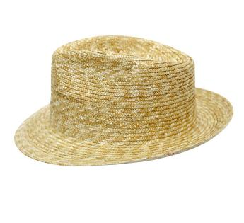 My Straw Fino Fedora  B Couture